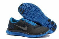 Nike Free 4.0 V2 Dark Gray Sapphire Blue Shoes
