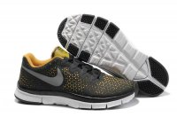 Nike Free 3.0 V4 Black Orange Yellow Shoes