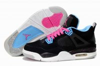 Air Jordan Retro 4 Women Shoes-5