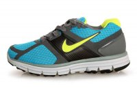 Nike LunarGlide+ Blue Yellow Mens Running Shoes