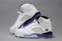 Air Jordan Retro 5 Women Shoes-5
