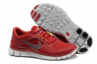Nike Free 5.0 3V Red White Shoes