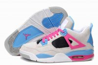 Air Jordan Retro 4 Women Shoes-1