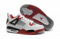 Air Jordan Retro 4 Women Shoes-17