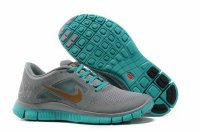 Nike Free 5.0 3V Gray Green Gold Shoes