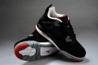 Air Jordan Retro 4 Women black Shoes