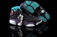 AIR JORDAN 13 Women Black and Purple Shoes 2013-1-17