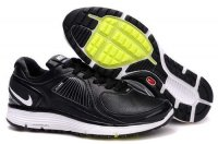 Nike Lunar Eclipse Leather Black White Mens Shoes