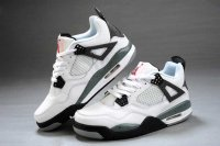 Air Jordan Retro 4 Women white Shoes