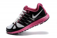 Nike LunarElite+ 2 Black Pink Womens Running Shoes 429783 601