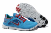 Nike Free 5.0 3V Blue Red Shoes