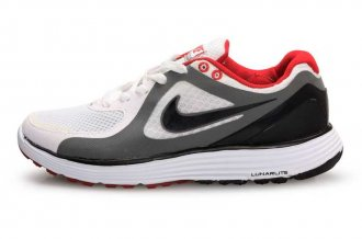 Nike LunarSwift White Black Mens Running Shoes