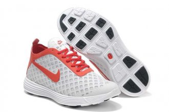 Nike Lunar Rejuven8 Mid Grey Red Mens Shoes
