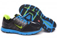 Nike LunarGlide+ 2 Black Blue Mens Shoes