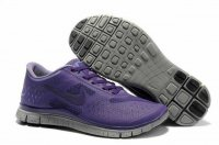 Nike Free 4.0 V2 Gray Purple Shoes