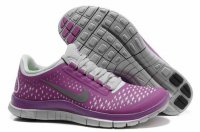 Nike Free 3.0 V4 Gray Purple Shoes