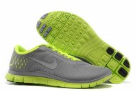 Nike Free 4.0 V2 Gray Green Shoes
