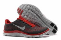 Nike Free 3.0 V4 Black Red Shoes