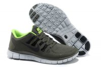 Nike Free 5.0 2V Army Green Shoes
