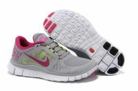 Nike Free 5.0 3V Gray Pink Shoes