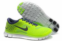 Nike Free 4.0 V2 Light Green Drak Purple Shoes