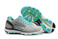 Nike LunarGlide+ 2 Grey Green Womens Shoes