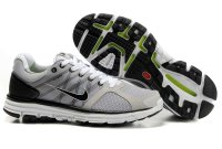 Nike LunarGlide+ 2 Grey Black White Mens Shoes