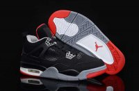AIR JORDAN J4 Women Black Shoes 2013-1-17