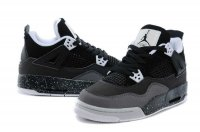 Air Jordan 4 Oreo Women Basketball Shoes-16