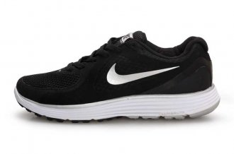 Nike LunarSwift Black White Mens Running Shoes
