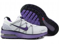 Nike Lunar Max White Purple Womens Running Shoes