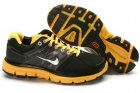 Nike LunarGlide+ 2 Black Yellow Mens Shoes