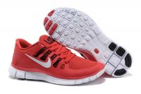 Nike Free 5.0 2V Red White Shoes
