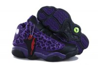 2013 AIR JORDAN 13 RETRO KIDS Purple Shoes 2013-1-17