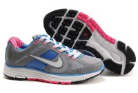 Nike Lunar Elite+ Grey Blue Red Womens Shoes