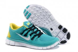 Nike Free 5.0 2V Green Yellow Shoes